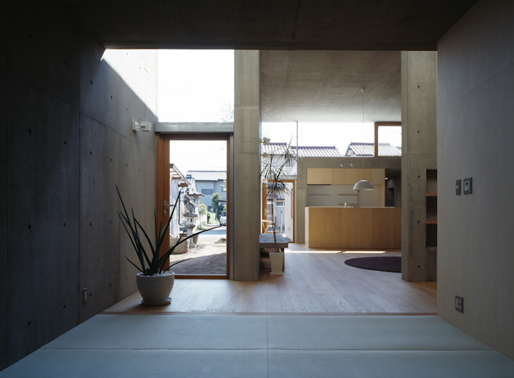 Modern Multimedya Odası 桐山和広建築設計事務所 Modern