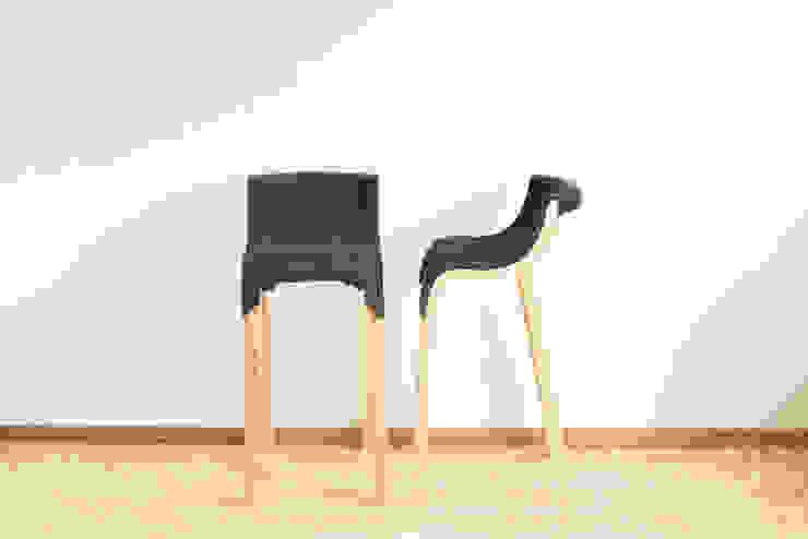 por Design of Engineering and Fabrication / wip Minimalista Madeira Acabamento em madeira