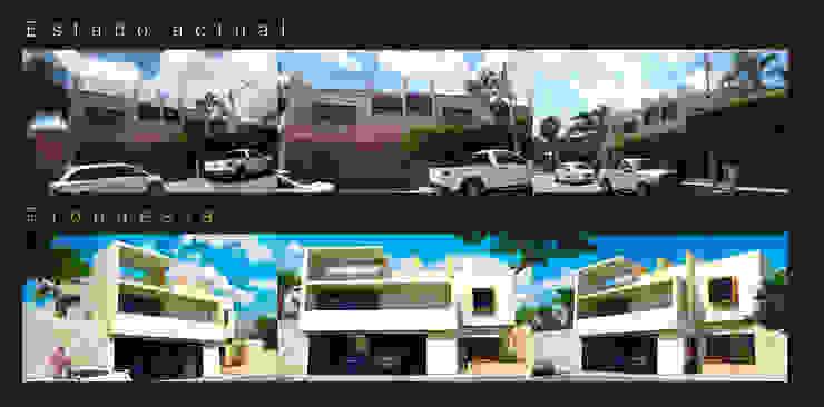 Nowoczesne domy od Flores Rojas Arquitectura Nowoczesny
