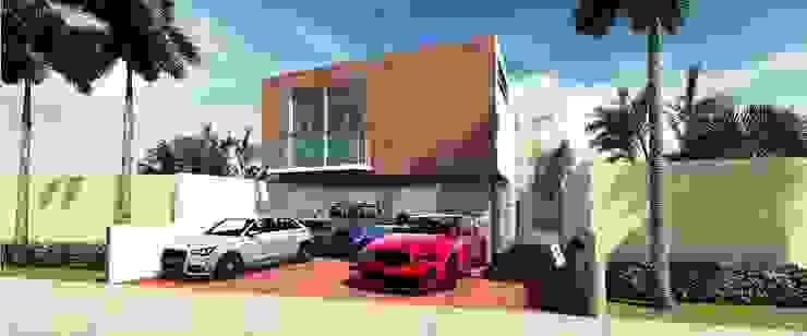 Casas de estilo moderno de Martin Pozos Arquitecto Moderno