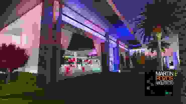 Jardines de estilo moderno de Martin Pozos Arquitecto Moderno