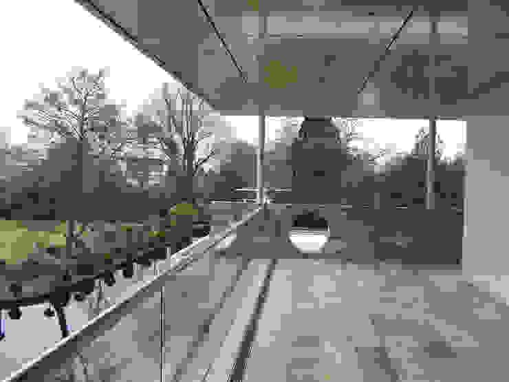 Modern Terrace by SL atelier voor architectuur Modern