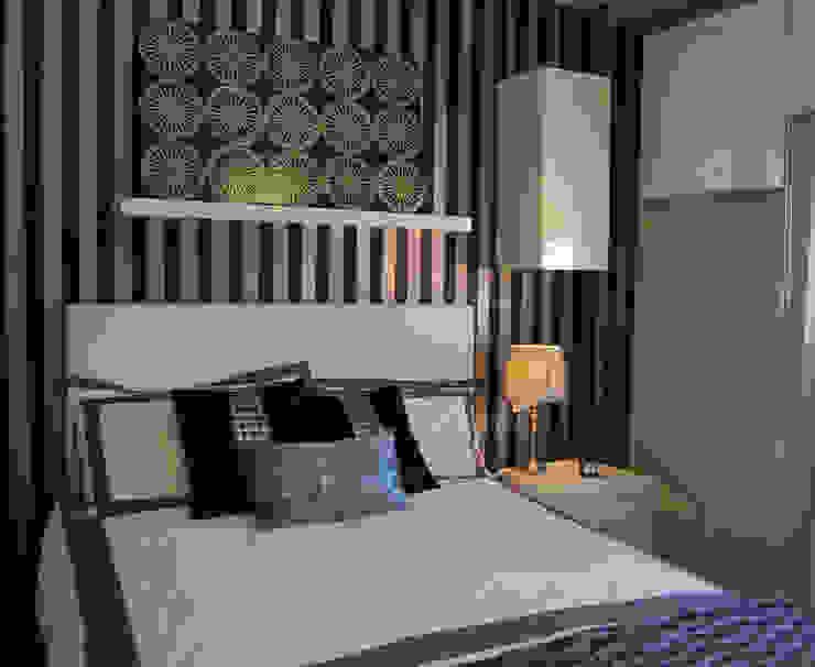 Vivienda en Getafe, Madrid Dormitorios de estilo ecléctico de FrAncisco SilvÁn - Arquitectura de Interior Ecléctico
