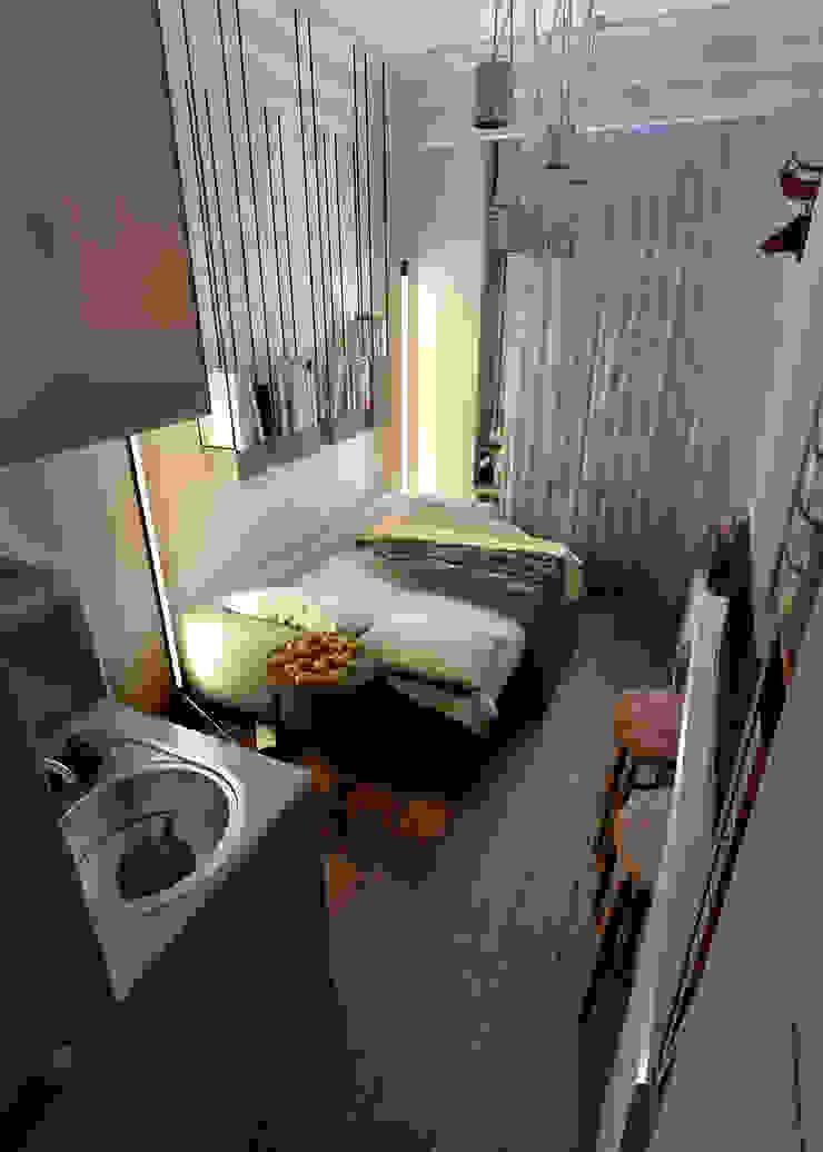 Eclectic style bedroom by Vashantsev Nik Eclectic