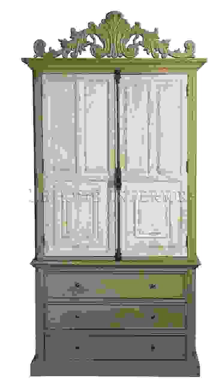 Гардероб Chambre Antique Armoire L023 от LeHome Interiors Классический Дерево Эффект древесины