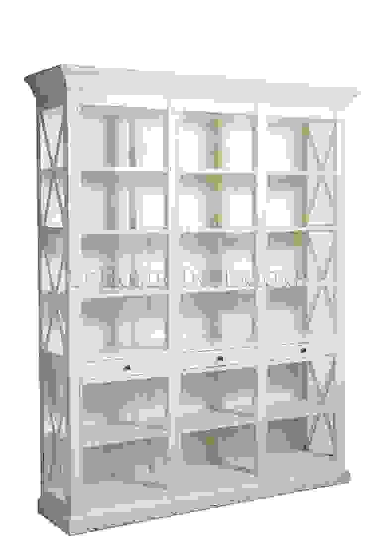 Шкаф Barton Oak Bookcase L033 от LeHome Interiors Классический Дерево Эффект древесины