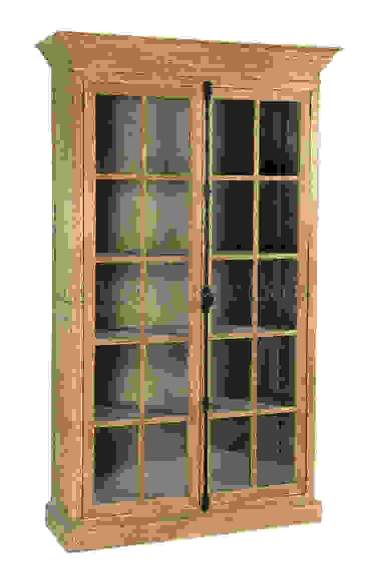 Шкаф Benson Oak Bookcase L035 от LeHome Interiors Классический Дерево Эффект древесины