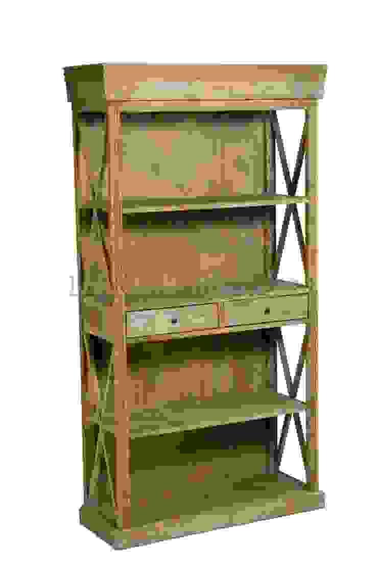 Шкаф Riviere Cross Frame Bookcase L042 от LeHome Interiors Классический Дерево Эффект древесины