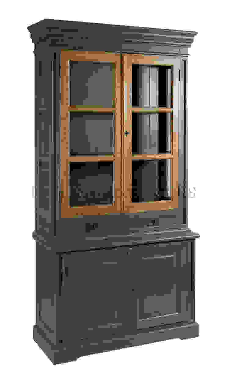 Шкаф Keywest Oak Bookcase L045 от LeHome Interiors Классический Дерево Эффект древесины