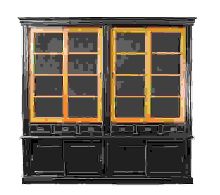 Шкаф Keywest Duet Bookcase L046 от LeHome Interiors Классический Дерево Эффект древесины