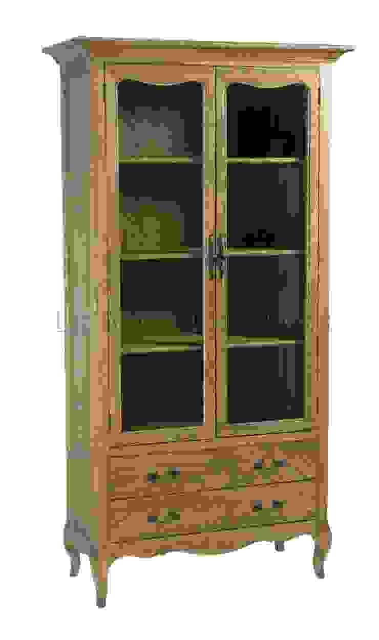 Шкаф Riviere Bookcase L049 от LeHome Interiors Классический Дерево Эффект древесины