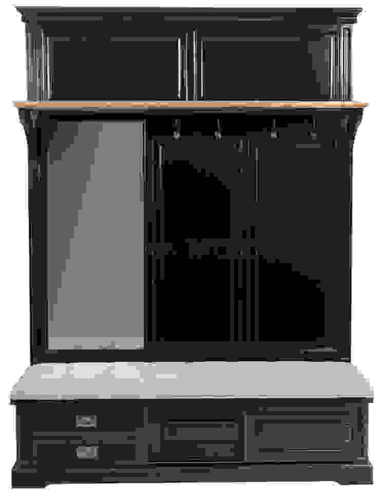 Прихожая Hallway Clothes Storage L053 от LeHome Interiors Классический Дерево Эффект древесины