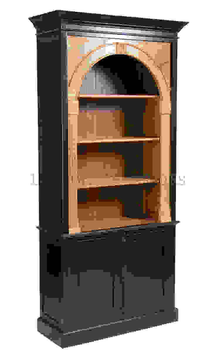 Шкаф Library Bookcase L060 от LeHome Interiors Классический Дерево Эффект древесины