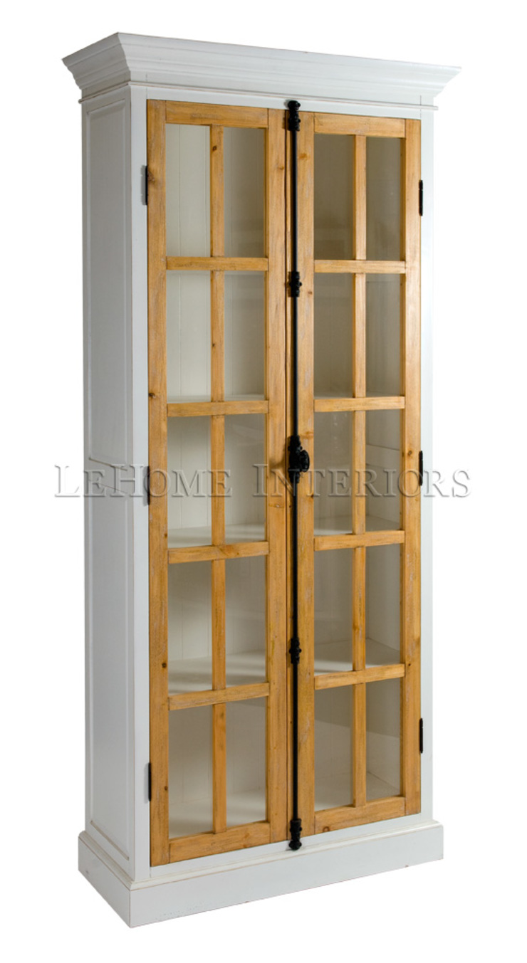 Шкаф-библиотека L075 от LeHome Interiors Классический Дерево Эффект древесины