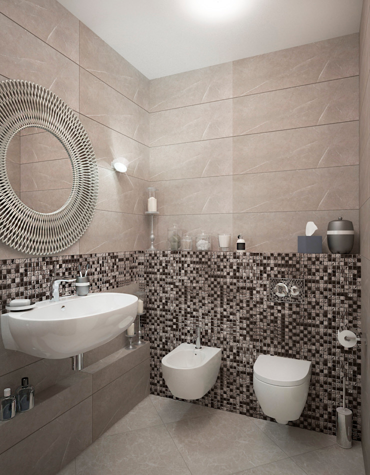 Classic style bathrooms by Виталия Бабаева и Дарья Дикая Classic