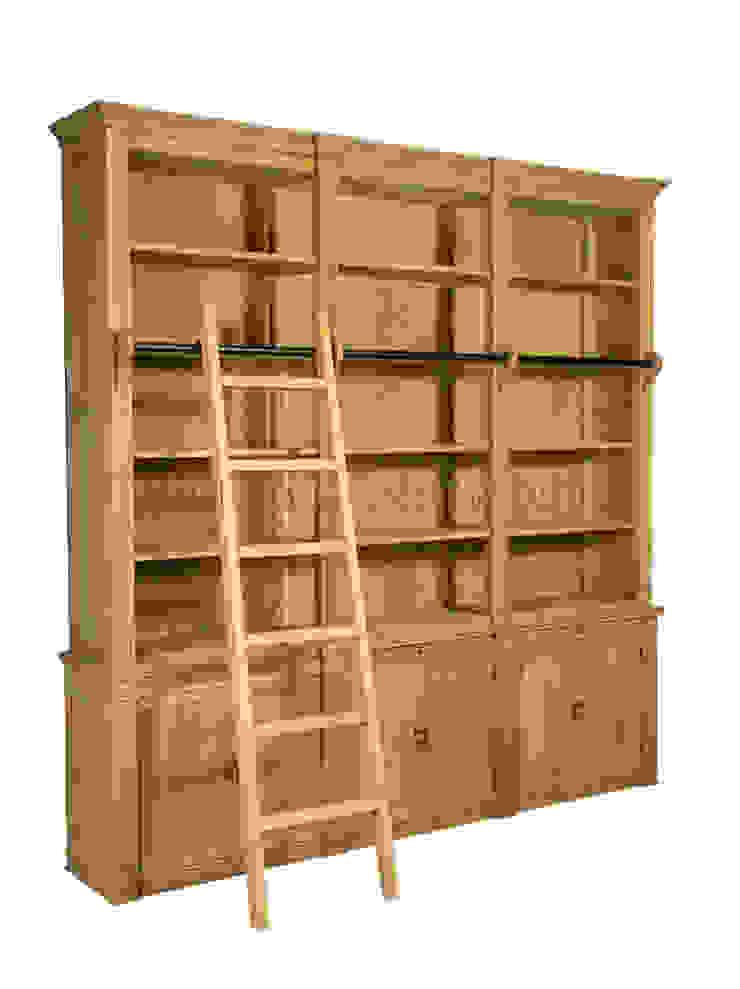 Библиотека Gardien Library Cabinet L078 от LeHome Interiors Классический Дерево Эффект древесины