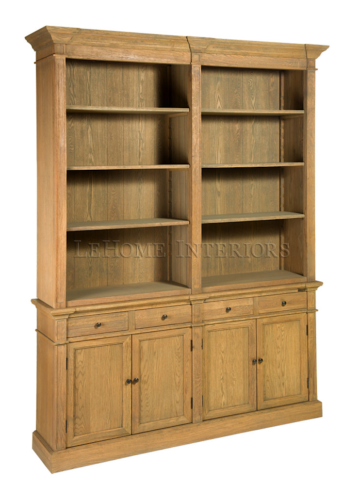 Шкаф Gardien L086 от LeHome Interiors Классический Дерево Эффект древесины