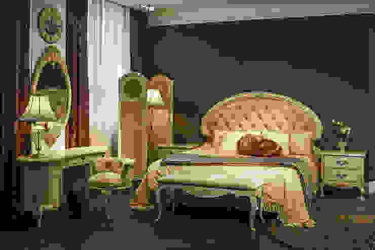 Интерьер спальни с мебелью в стиле Прованс от Dolche Rosa Спальня в классическом стиле от MARIA MELNICOVA студия SIERRA Классический