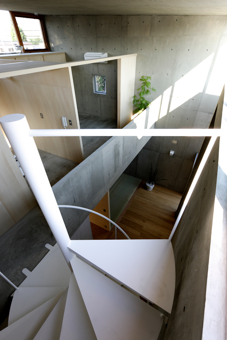 Modern Yatak Odası 桐山和広建築設計事務所 Modern