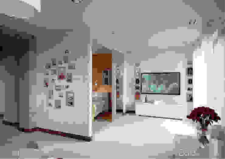 Salones de estilo moderno de homify Moderno Azulejos