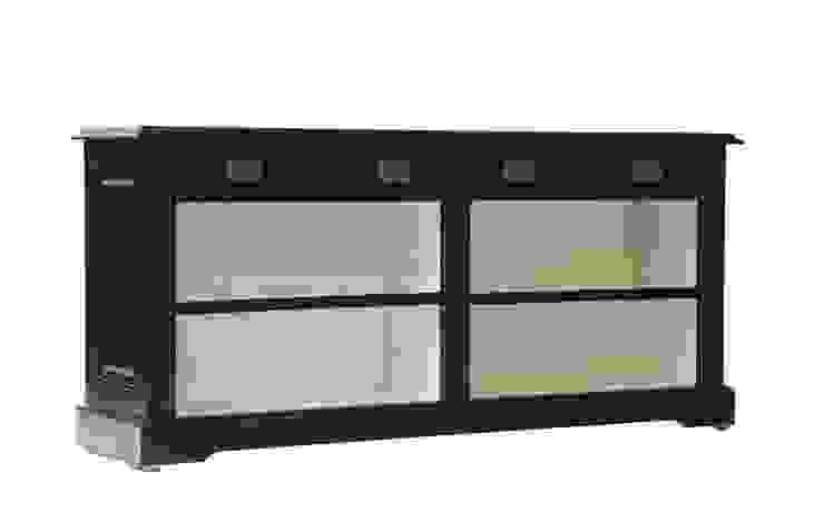 Комод Keywest Open Bookcase D008 от LeHome Interiors Классический Дерево Эффект древесины