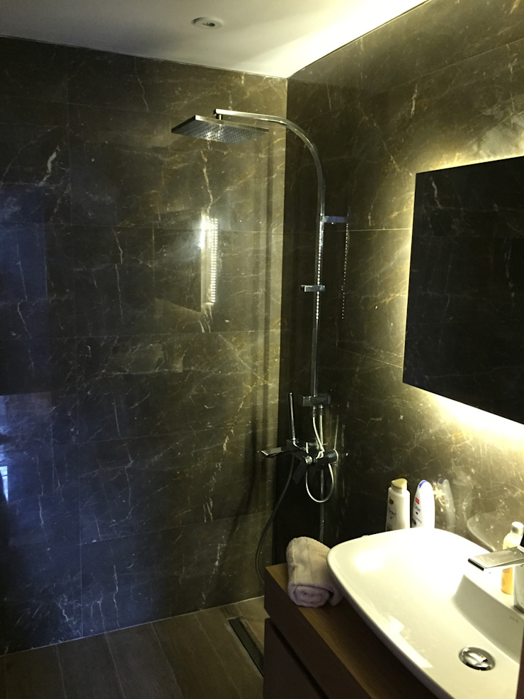 Nowoczesna łazienka od D'arc Tasarım Nowoczesny Marmur