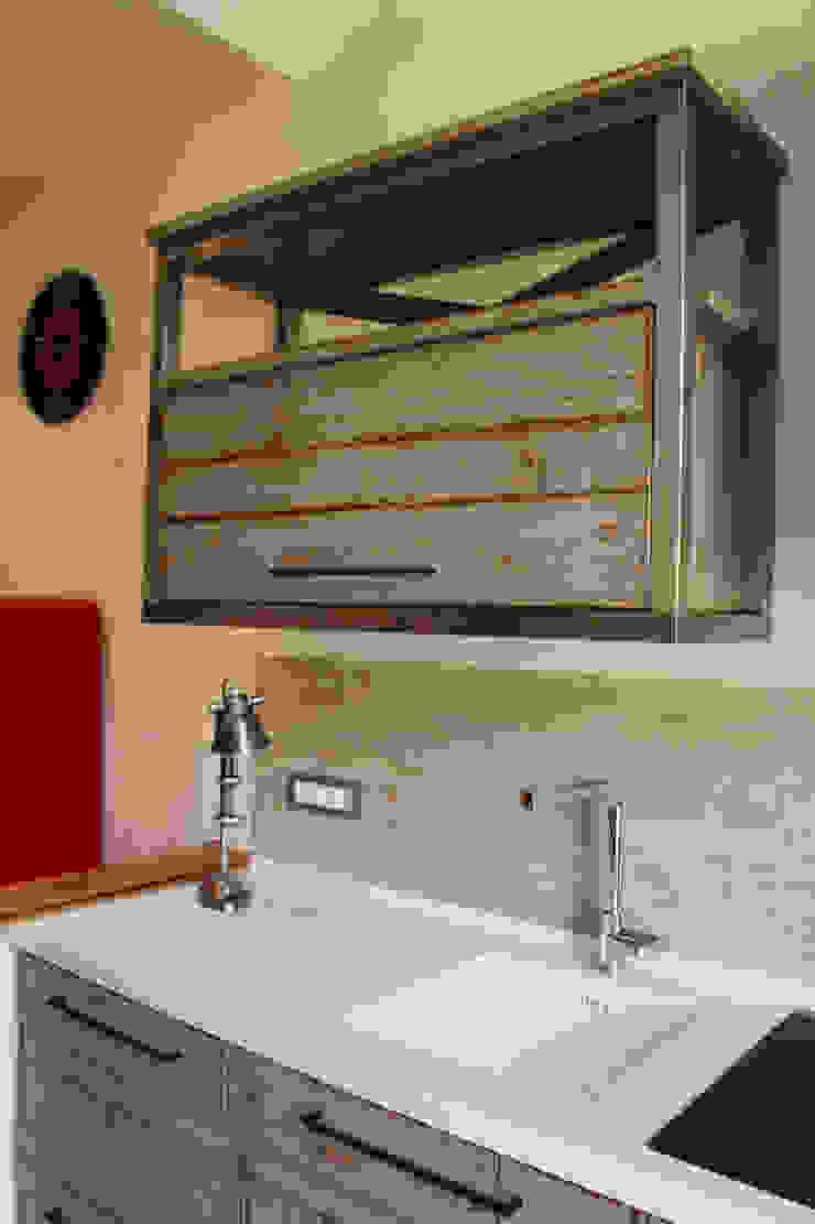 Essenza Legno Ausgefallene Küchen Massivholz Grau