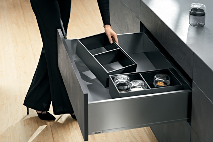 Modern style kitchen by Blum Modern Iron/Steel