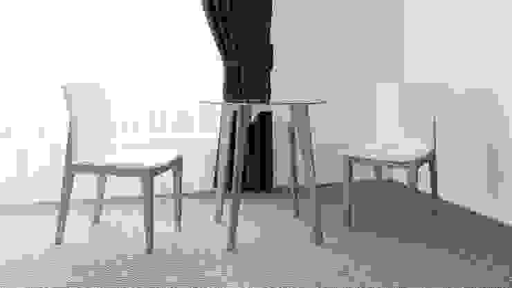 Mesa de Estancia de diesco Moderno Compuestos de madera y plástico