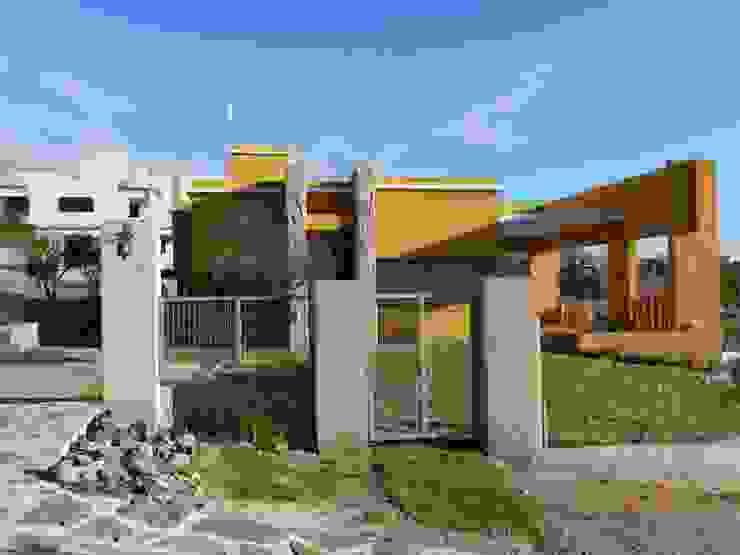 CASA DE CAMPO LOMAS DEL REY Casas modernas: Ideas, imágenes y decoración de ART quitectura + diseño de Interiores. ARQ SCHIAVI VALERIA Moderno