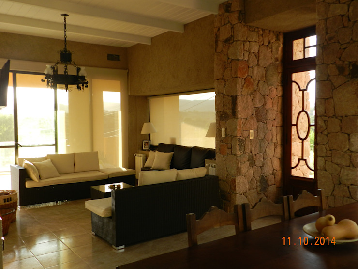 Modern dining room by ART quitectura + diseño de Interiores. ARQ SCHIAVI VALERIA Modern