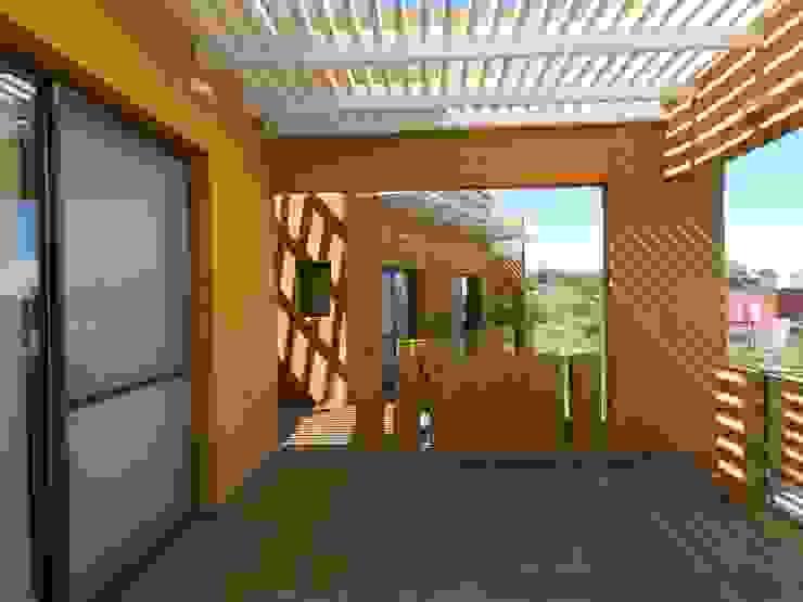 Balcone, Veranda & Terrazza in stile moderno di ART quitectura + diseño de Interiores. ARQ SCHIAVI VALERIA Moderno