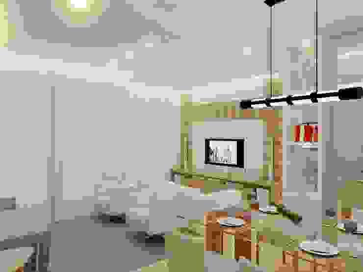 Salas de estar modernas por Merlincon Prestes Arquitetura Moderno