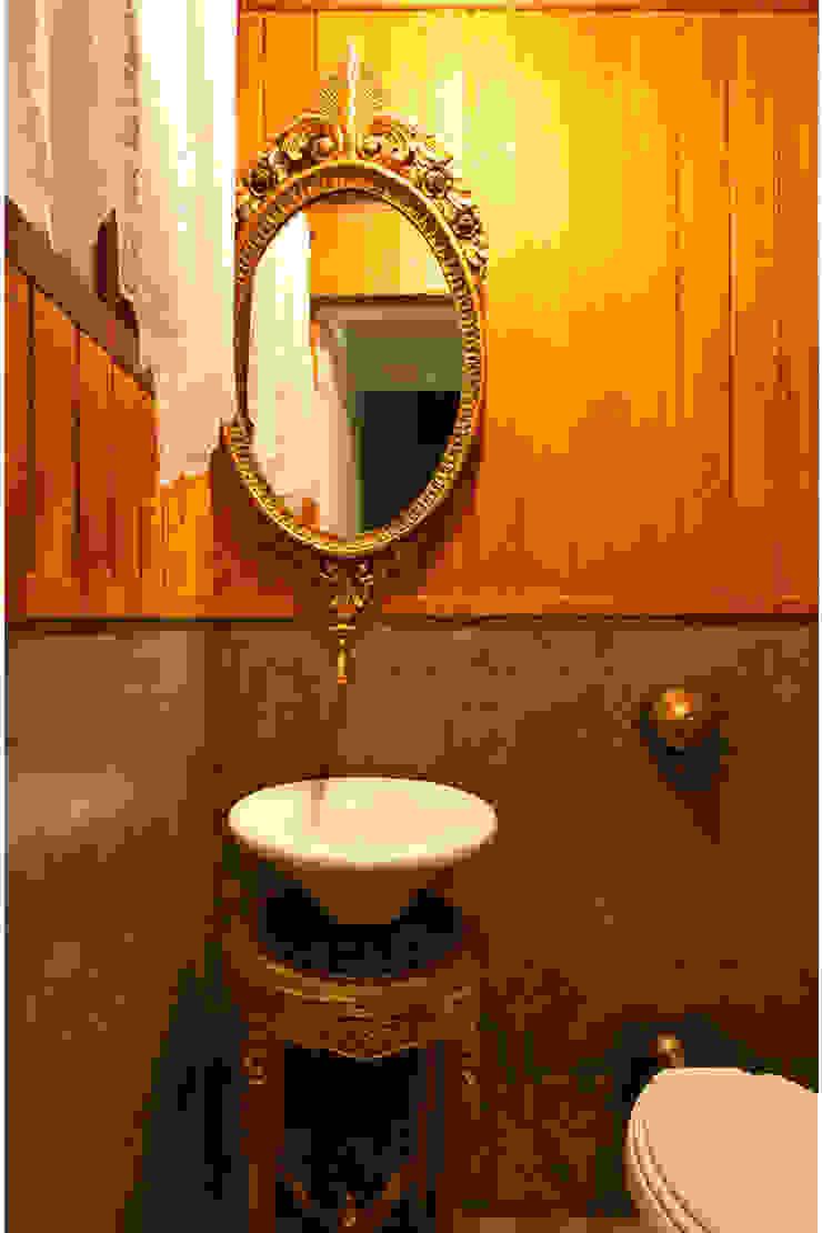 Rustic style bathroom by MMMundim Arquitetura e Interiores Rustic
