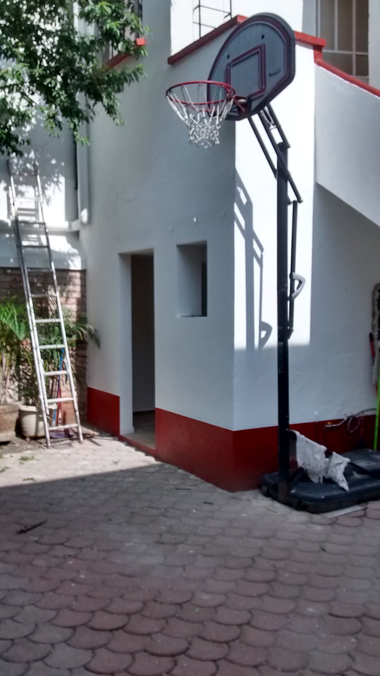 Fixing Colonial style house Bricks Multicolored