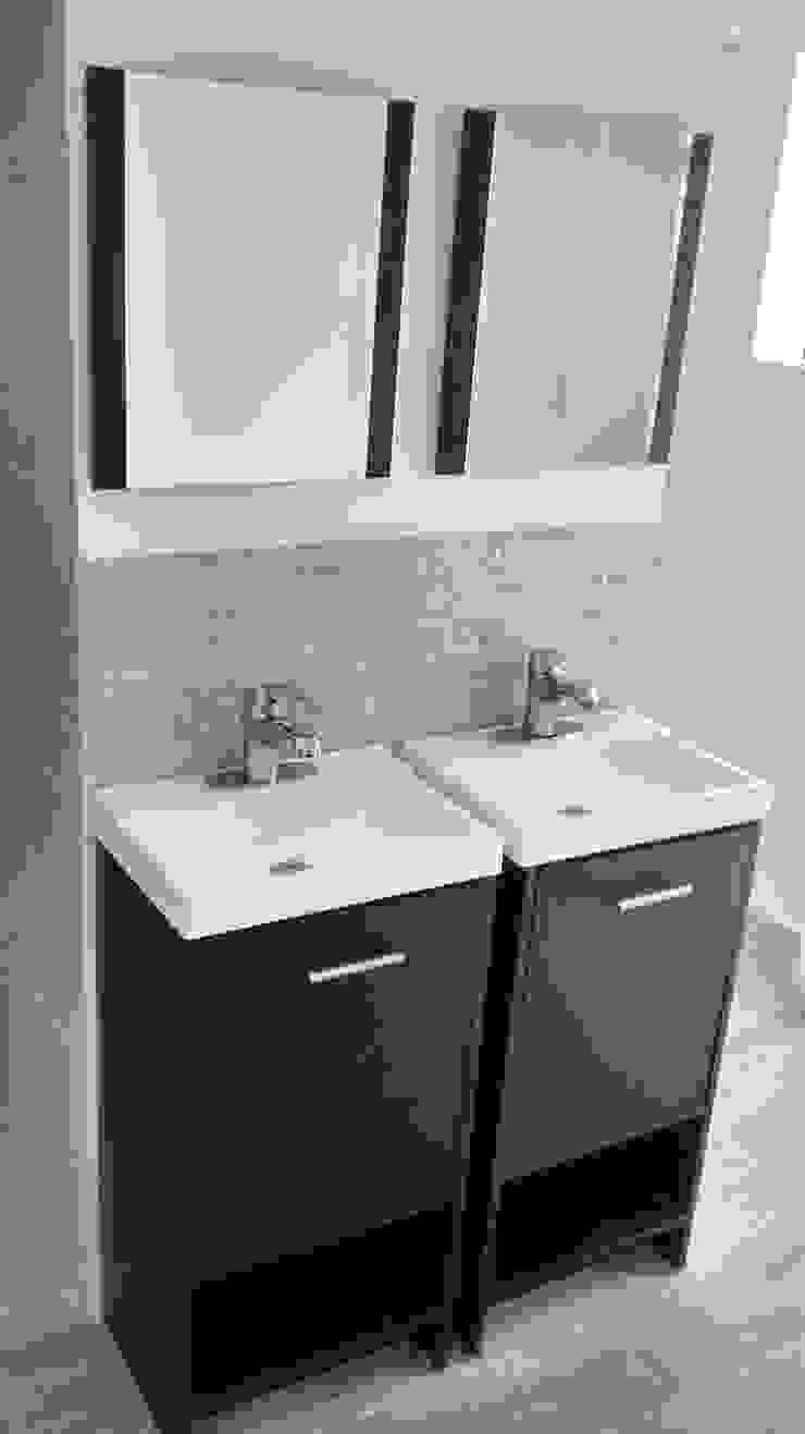 Fixing Eclectic style bathroom Tiles Beige