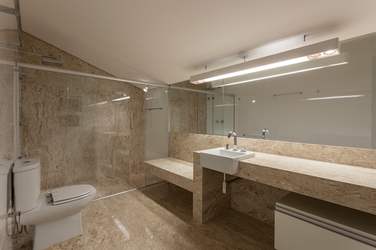 Baños de estilo  de Estela Netto Arquitetura e Design, Moderno