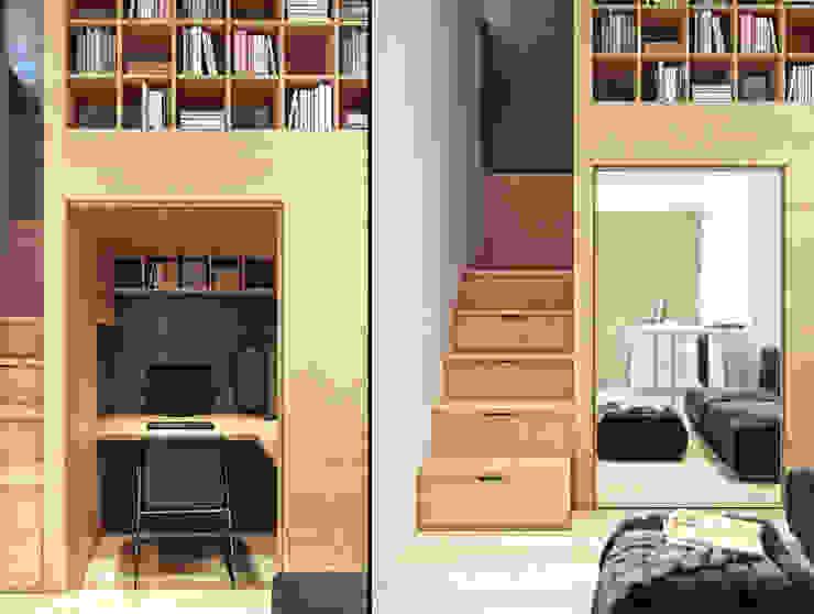 Minimalistische Arbeitszimmer von Denis Svirid Minimalistisch