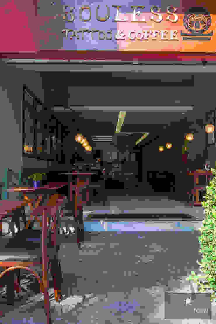 Café Souless Bares e clubes modernos por MMMundim Arquitetura e Interiores Moderno