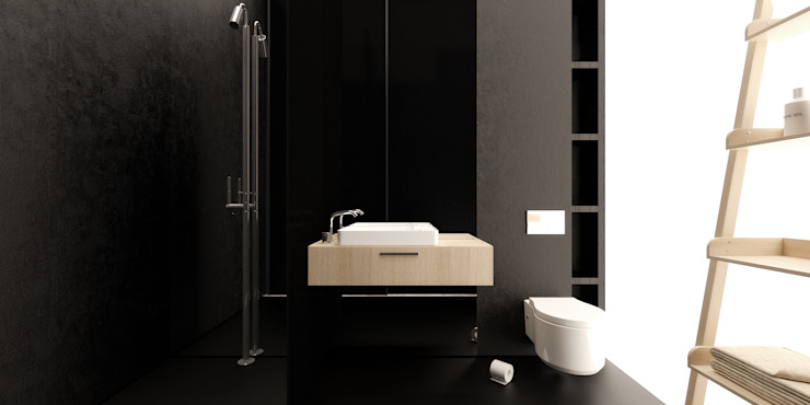 Minimalist bathroom by IGOR SIROTOV ARCHITECTS Minimalist