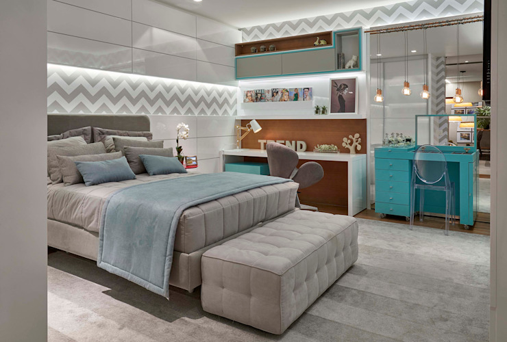 Lider Interiores Modern style bedroom