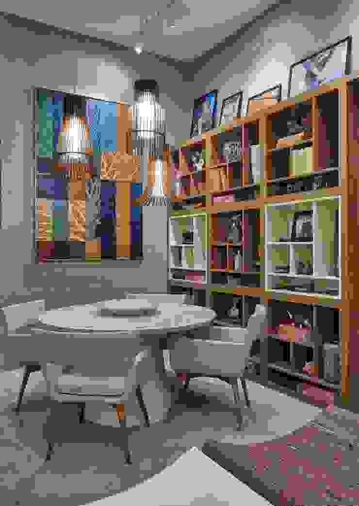 Decora Líder Belo Horizonte – Living do Seu João Salas de jantar modernas por Lider Interiores Moderno