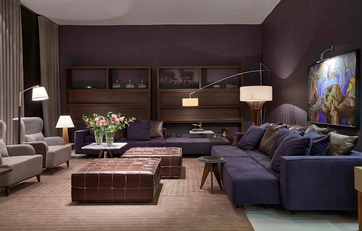 غرفة المعيشة تنفيذ Lider Interiores, حداثي