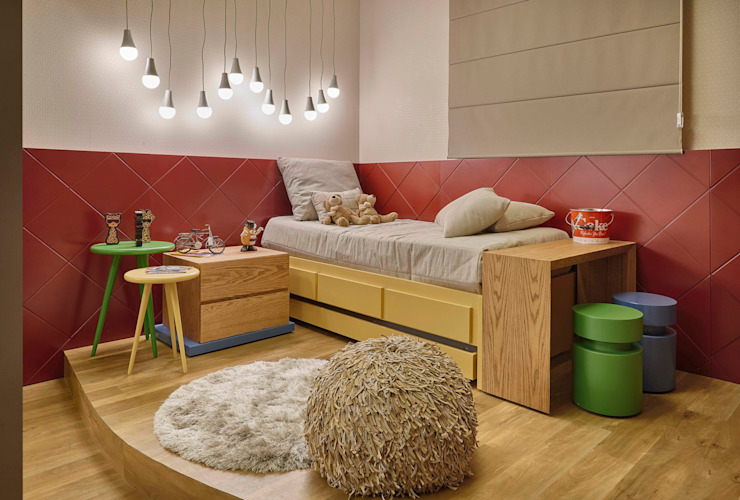 Nursery/kid's room by Lider Interiores,