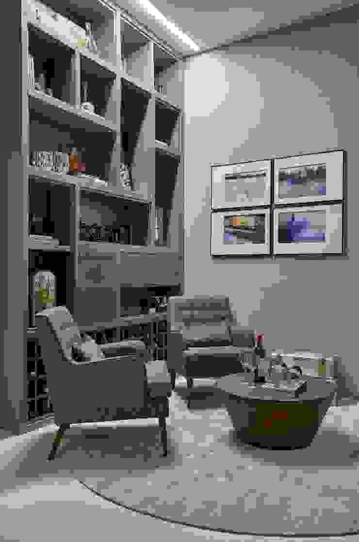 Decora Líder Belo Horizonte – Sala de Jantar Salas de estar modernas por Lider Interiores Moderno