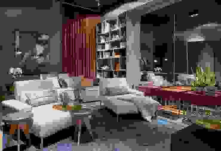 Decora Líder Belo Horizonte - Home Cinema Salas de estar modernas por Lider Interiores Moderno