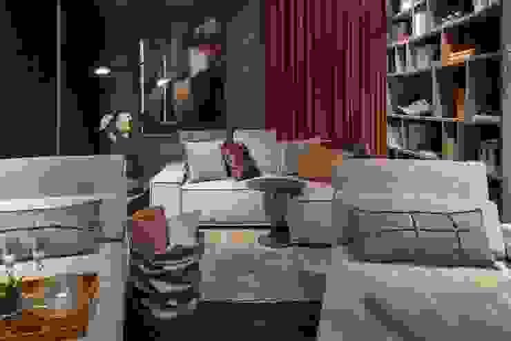 Decora Líder Belo Horizonte – Home Cinema Salas de estar modernas por Lider Interiores Moderno