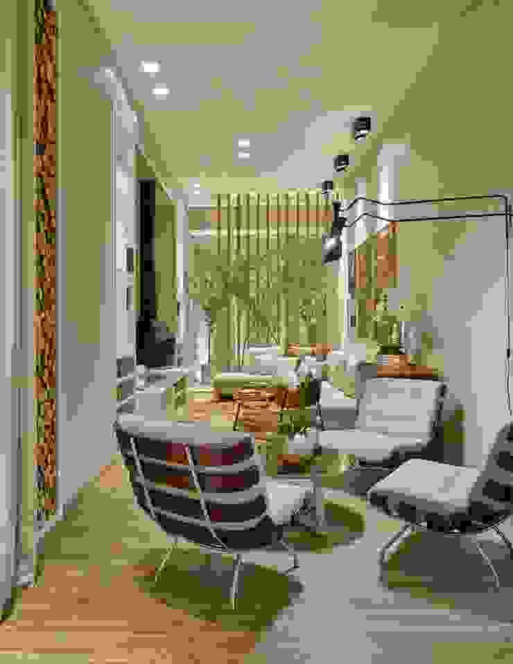 Decora Líder Belo Horizonte – Living da Lareira Salas de estar modernas por Lider Interiores Moderno