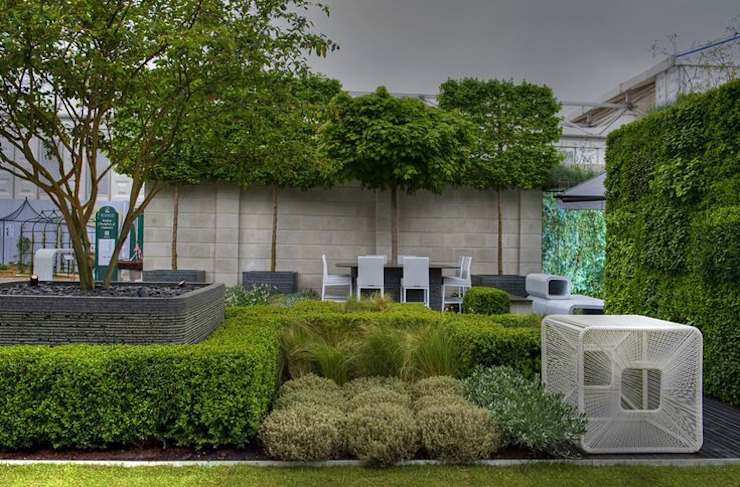Chelsea Flower Show 2012 : The Rootop Workplace of Tomorrow Modern commercial spaces by Aralia Modern Wood Wood effect