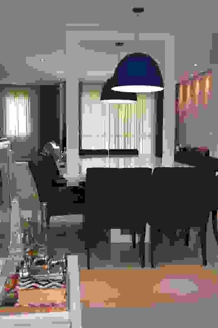 APARTAMENTO 143 Salas de jantar modernas por ViKasa arquitetura e interiores Moderno
